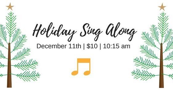 Christmas crafts and holiday sing along for the kiddos tomorrow!hellip