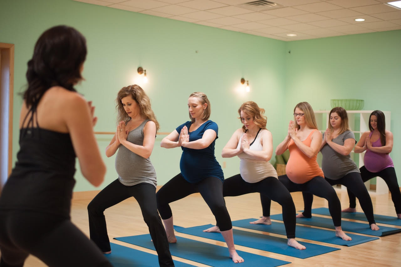Renew Mama Studio's Prenatal Yoga Classes