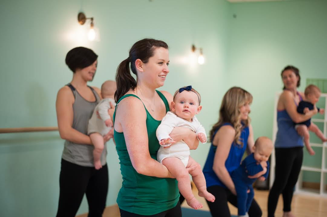Babies Welcome at the Barre